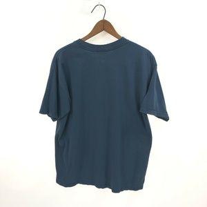 Vintage Shirts - SEA DRAGONS Cotton Blue T-shirt World Issue L